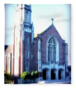 Cathedral Of The Annunciation 2 Fleece Blanket