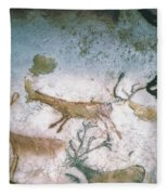 Cave Art Fleece Blanket