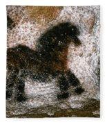 Cave Art: Lascaux Fleece Blanket