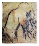 Cave Art: Mammoth Fleece Blanket