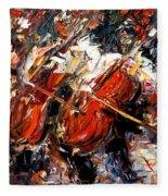 2 Cellos Fleece Blanket