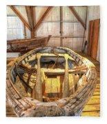 Chesapeake Bay Workboat Fleece Blanket