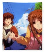 Clannad Fleece Blanket