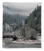 Clearwater River Fleece Blanket