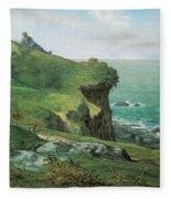 Cliffs Of Greville Fleece Blanket