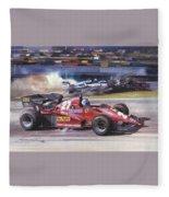 Cma 081 1983 San Marino Gp Imola Patrick Tambay In Ferrari Roy Rob Fleece Blanket