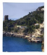 Furore - Coast Of Amalfi Fleece Blanket