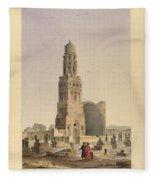Complex Of Sultan Qalawun Fleece Blanket