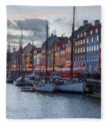 Copenhagen - Denmark Fleece Blanket