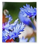 Cornflower Fleece Blanket