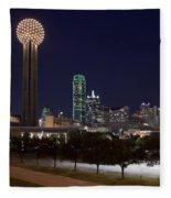 Dallas - Texas Fleece Blanket