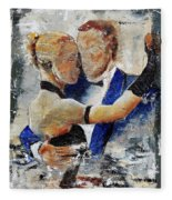 Dancing Tango Fleece Blanket