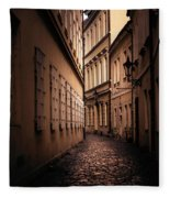 Dark Street Fleece Blanket