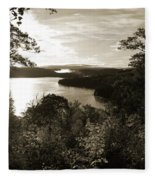 Dawn At Algonquin Park Canada Fleece Blanket