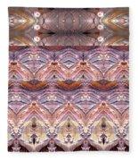 Desert Painting Fleece Blanket