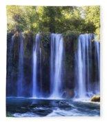Duden Waterfall - Turkey Fleece Blanket