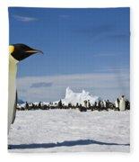 Emperor Penguin Fleece Blanket