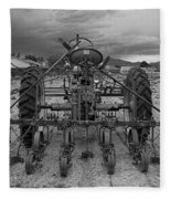 Farmall Tractor Fleece Blanket