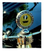 Female View At A Car Show Fleece Blanket