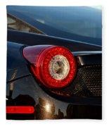 Ferrari Tail Light Fleece Blanket
