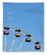 Ferris Wheel  Fleece Blanket