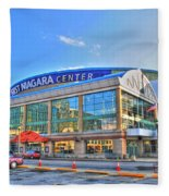 First Niagara Center Fleece Blanket