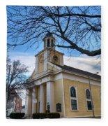 First Parish Church Beverly Ma Fleece Blanket