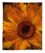 10449 Flower Fleece Blanket