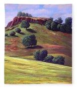 Flowering Meadow Fleece Blanket