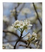 Flowering Trees Fleece Blanket