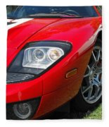 Ford Gt Fleece Blanket