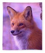 Fox Fleece Blanket
