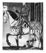 Francis I (1494-1547) Fleece Blanket