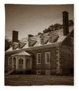 George Mason's Gunston Hall Fleece Blanket