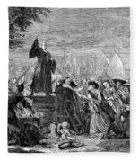 George Whitefield Fleece Blanket