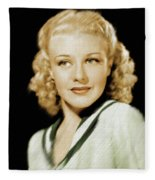 Ginger Rogers, Legend Fleece Blanket