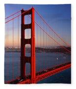 Golden Gate Bridge San Francisco Ca Fleece Blanket