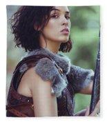 Got Warrior Princess Fleece Blanket