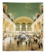 Grand Central Terminal Fleece Blanket