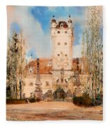 Greillenstein Castle Fleece Blanket