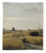 Harvest Fleece Blanket