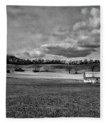 Heaven - West Virginia Fleece Blanket