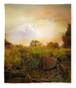 Hilltop Meadow Fleece Blanket