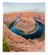 Horseshoe Bend Near Page Arizona Fleece Blanket