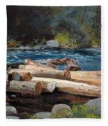 Hudson River Fleece Blanket