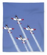 Iaf Acrobatic Team Fleece Blanket