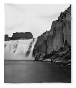 Idaho: Shoshone Falls Fleece Blanket