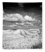 Infrared Landscape In Norway Fleece Blanket