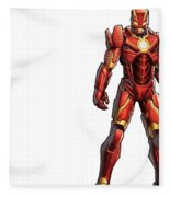 Iron Man Fleece Blanket