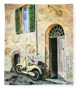 Italian Alley Fleece Blanket